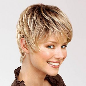 Perücken Blond kurz
