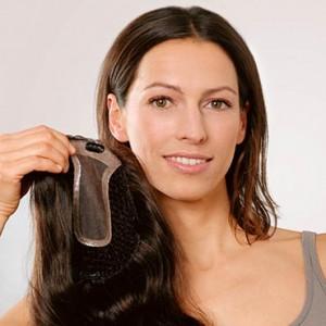 Haarverdichtung Frauen nachher